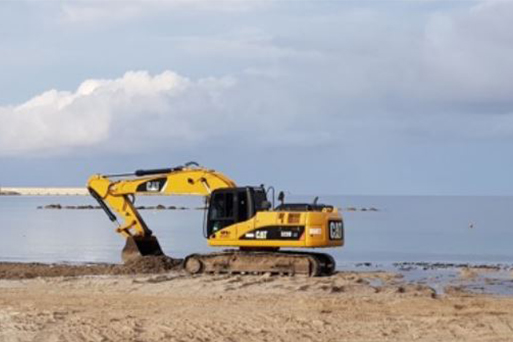 """Associazioni Ambientaliste, appello urgente al Sindaco Mario Bruno: """"si fermino i mezzi pesanti sulla spiaggia"""""""