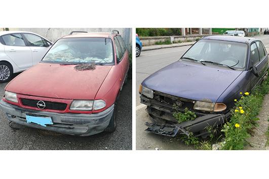 Parte la campagna di rimozione delle auto abbandonate in città