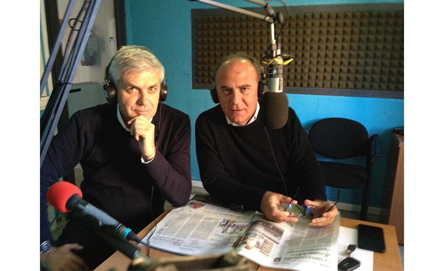 Su Radio Onda Stereo con Nicola Nieddu e Mario Bruno ci sono: Raniero Selva, Beppe Tomasini e Sandro Camba