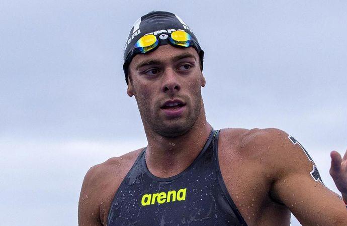 Paltrinieri e Verani per la presentazione degli eventi di nuoto di fondo. Ad Alghero il campionato italiano paralimpico