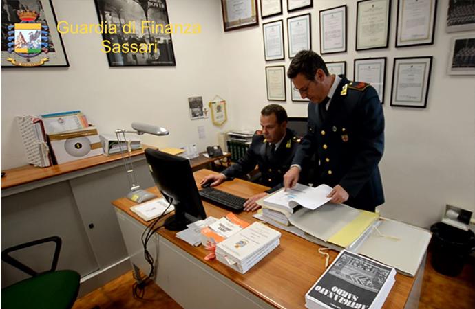 GdF di Sassari: tre denunce per bancarotta fraudolenta e sequestri di immobili per 250mila euro
