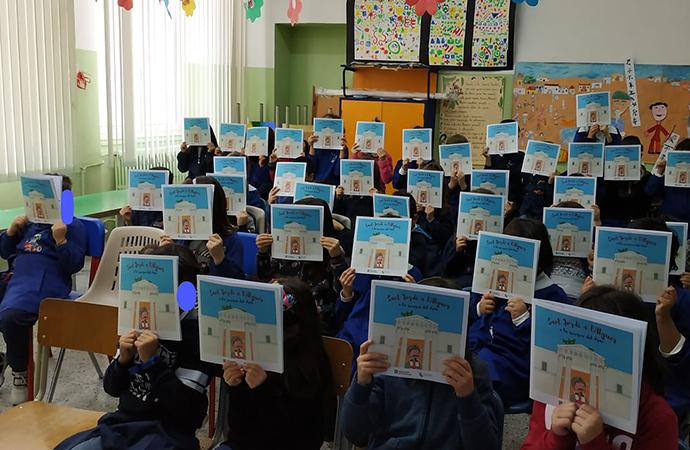 """Alghero celebra Sant Jordi, arriva nelle scuole il libro di Eleonora Cattogno """"Sant Jordi a l'Alguer a la recerca del drac"""""""