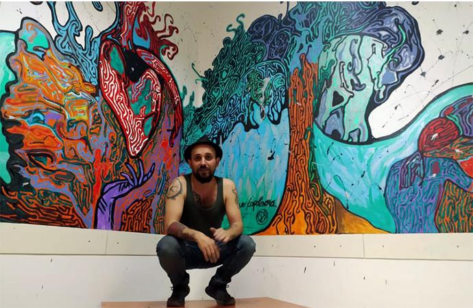 Omaggio alla marginalità, il pittore Gabriele Sanna presenta il suo progetto artistico