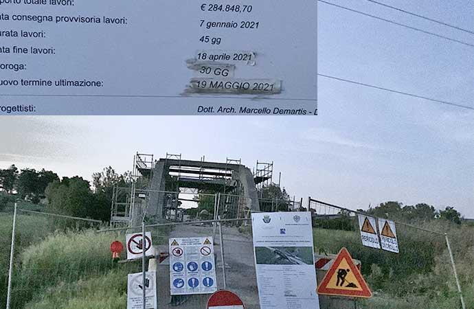 Ponte Serra, si vede la fine dei lavori: consegna il 19 Maggio