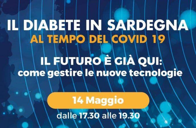 Il Diabete in Sardegna – Webinar , il futuro è già qui,  come gestire le nuove tecnologieper il diabete