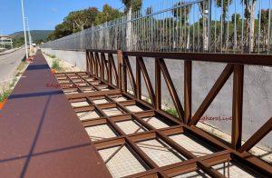 Ponte di Fertilia, primi elementi in loco ma almeno un altro mese di lavoro