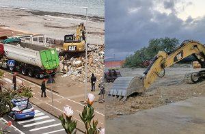 Del Rafel rimane solo il nome. La ruspa in spiaggia prepara la ristrutturazione