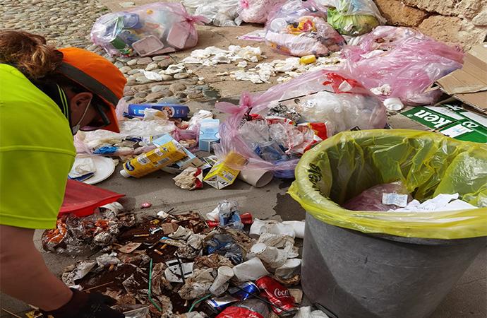Attività di controllo, prevenzione e repressione in materia di rifiuti. Multato un conferitore abusivo.