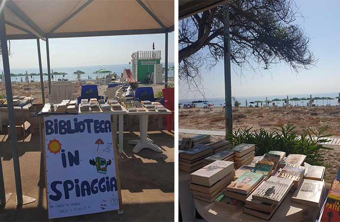 Nel lido di Orrì arriva la biblioteca in spiaggia