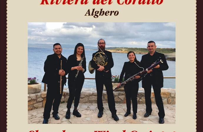 Concerti Riviera del Corallo, lunedì 30 agosto Shardana Wind Quintet, nel chiostro di San Francesco