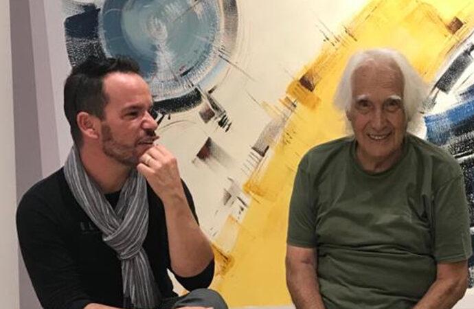 Sfilata di moda all'Hotel Baia di Conte, il fashion design di Roberto Stella sposa l'arte di Elio Pulli