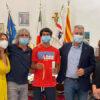 Lorenzo Carboni ricevuto dal Sindaco Conoci: è entrato ufficialmente a far parte degli sportivi Algheresi che contano