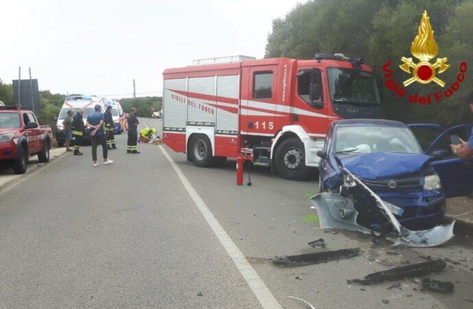 Incidente stradale nei pressi della rotatoria di Stintino, un bambino trasportato con l'elisoccorso