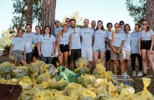 Raccolti 1.230 chili di rifiuti a Mugoni, WeClean e i Tetragonauti fanno squadra