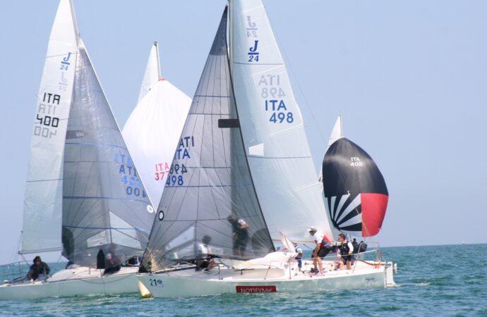 Ultimi preparativi per l'atteso Campionato Italiano Open J24.