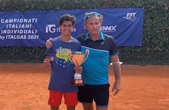 Tennis, è nata una stella, Lorenzo Carboni campione italiano Under 16