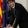 La Polizia Italiana arresta il presidente Puigdemont al suo arrivo ad Alghero