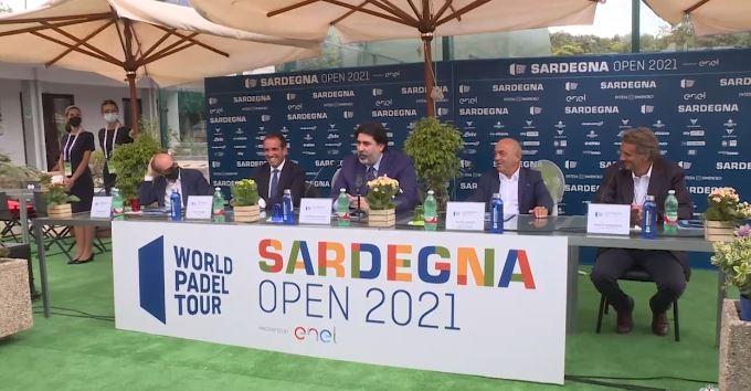 World Padel Tour, il Presidente Solinas: evento coprestigioso ci consente di promuovere la Sardegna