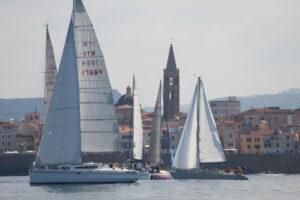 Alghero-Bosa-Alghero, Gagliarda e L'Altra Luna conquistano il Trofeo Base Nautica Usai