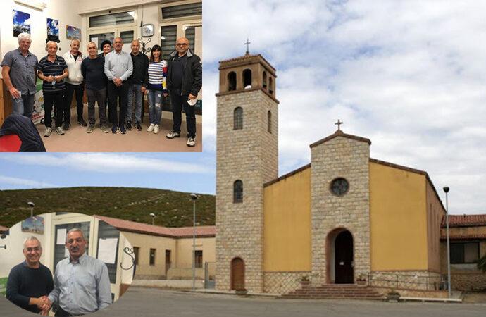 """Il comitato di Borgata di Santa Maria """"benedetto"""" dal Parrocco. La richiesta: """"suonate in chiesa""""."""