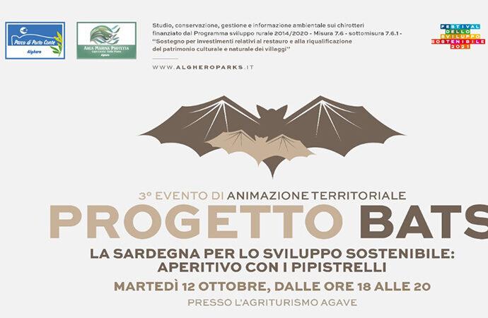 Progetto Bats a cura del Ceas di Porto Conte. Aperitivo all'Agriturismo Agave e Bat Night