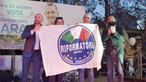 Beniamino Garau sindaco di Capoterra, soddisfazione dei Riformatori Sardi